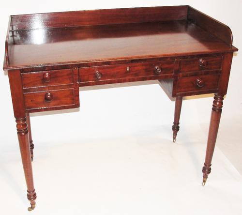 Georgian Mahogany Dressing Table c.1825 (1 of 1)