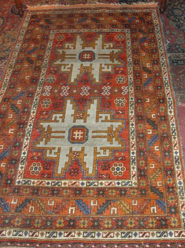 Antique Caucasian Leshgi rug (1 of 1)