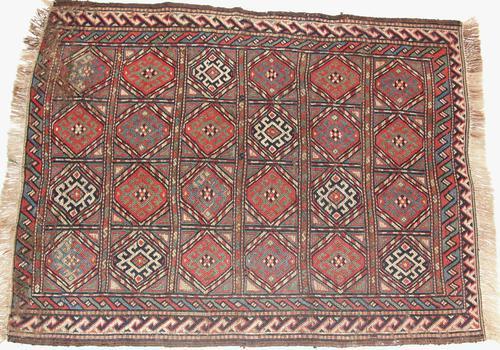 Antique Caucasian Soumac Marriage Rug c.1880 (1 of 1)