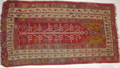 Antique Turkish Anatolian Kelim Prayer Rug c.1910 (1 of 1)