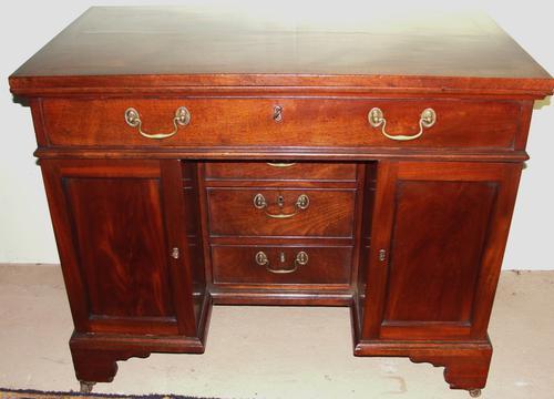 Chippendale Cuban Mahogany Architect's Desk (1 of 1)