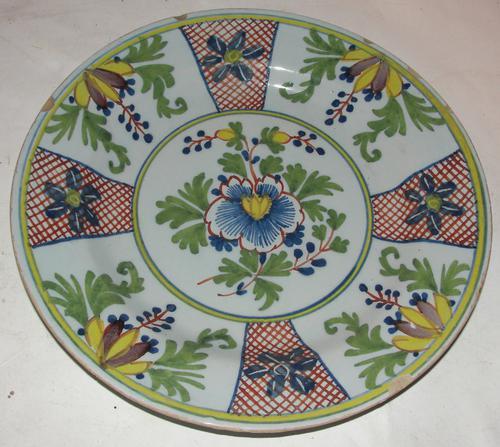 18th Century Lambeth Delft Plate (1 of 1)
