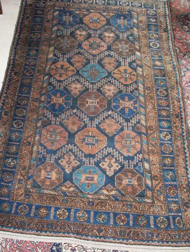 Antique Persian Hamadan Rug c.1910 (1 of 1)