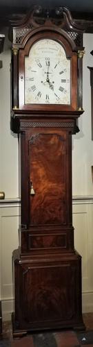 18th Century Mahogany 8 Day Longcase / Grandfather Clock (1 of 8)