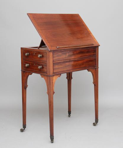 19th Century Mahogany Side Table (1 of 14)