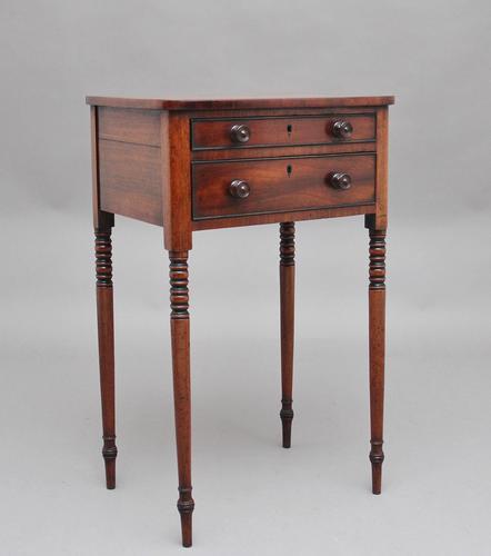Early 19th Century Mahogany Side Table (1 of 12)