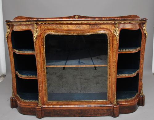 19th Century Burr Walnut Credenza (1 of 20)