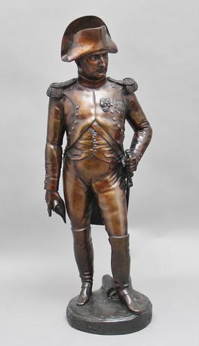 Early 19th Century Bronze Sculpture of Napoleon Bonaparte by Carle Elshoecht (1 of 16)