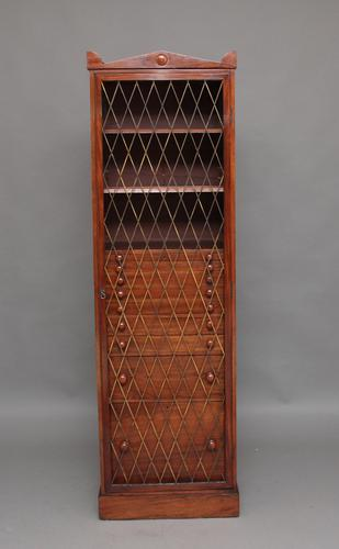 19th Century Mahogany Collectors Cabinet c.1840 (1 of 8)
