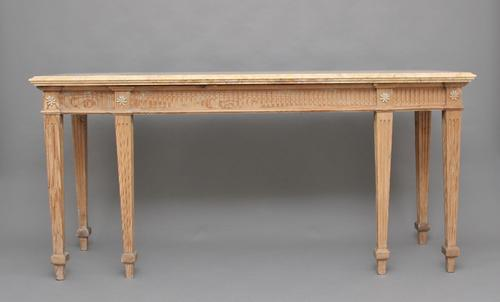 18th Century Pine & Marble Top Console Table c.1790 (1 of 1)