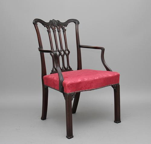 18th Century Mahogany Chippendale Chair (1 of 1)