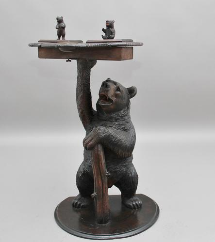 19th Century Musical Black Forest Smokers Stand c.1880 (1 of 1)