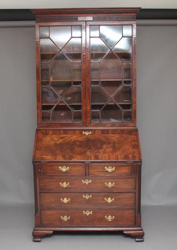 18th Century Mahogany Bureau Bookcase (1 of 1)