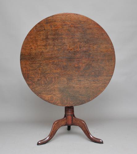 18th Century Oak Tripod Table (1 of 1)