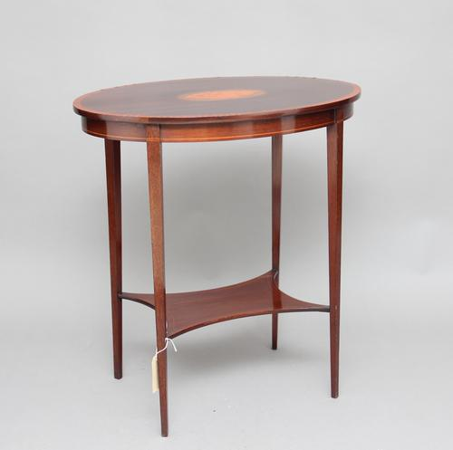 Early 20th Century Mahogany Occasional Table (1 of 1)