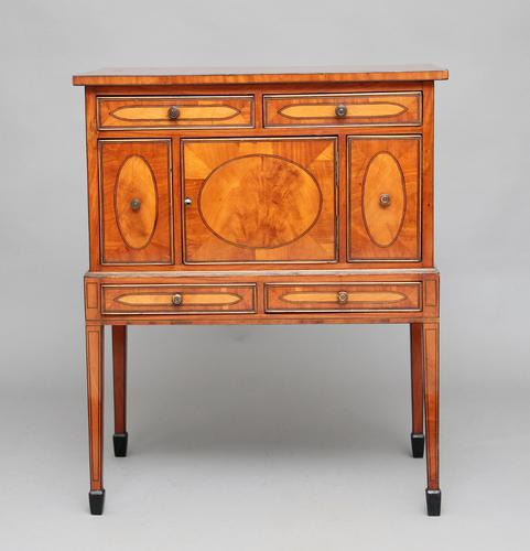 Early 19th Century Satinwood Cabinet (1 of 1)