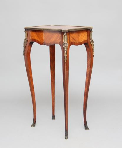19th Century French Kingwood Side Table (1 of 1)