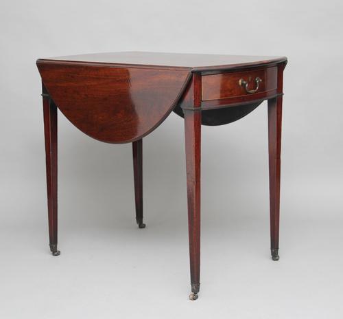 18th Century Mahogany Pembroke Table (1 of 1)