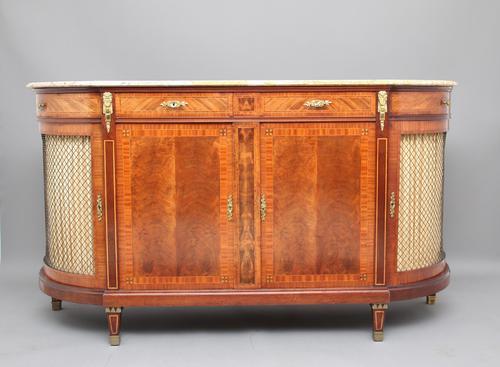 19th Century French Mahogany Cabinet (1 of 1)