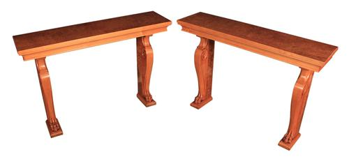Pair of French Art Deco Console Tables (1 of 16)