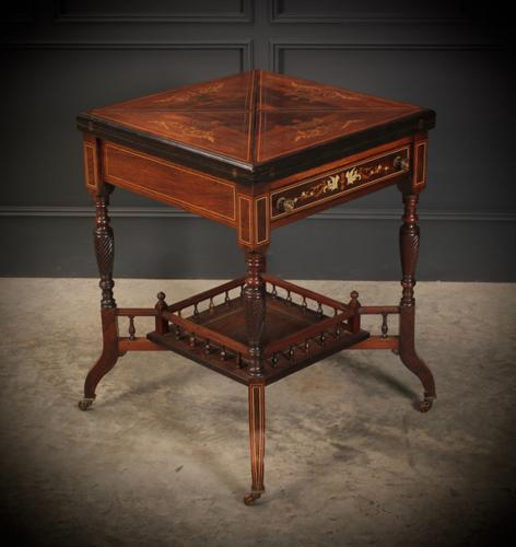 Rosewood Envelope Card / Games Table (1 of 19)