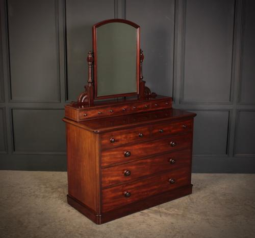 Victorian Mahogany Dressing Chest (1 of 11)