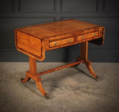 Regency Satinwood Sofa Table (1 of 16)