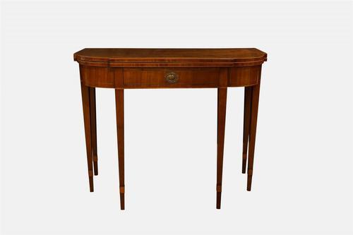 George III Mahogany Tea Table (1 of 5)