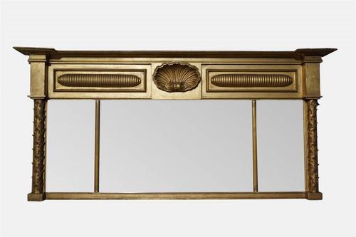 William IV Gilt Overmantel Mirror (1 of 4)