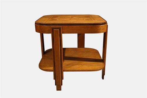 Art Deco Oak Coffee Table (1 of 6)