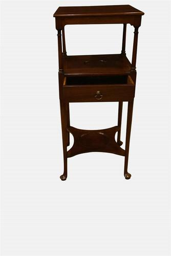 George II Mahogany Table Stand (1 of 6)