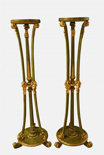 Pair of Early 20th Century Torcheres (1 of 11)