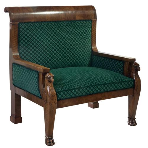 Large French Armchair c.1880 (1 of 9)