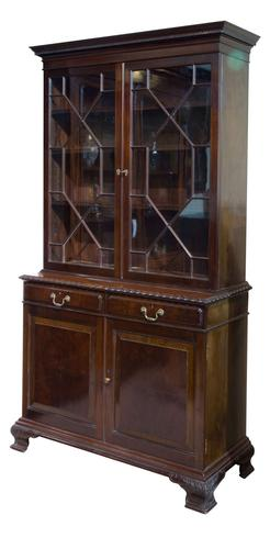 Mahogany Bookcase by Holland & Sons c.1890 (1 of 9)