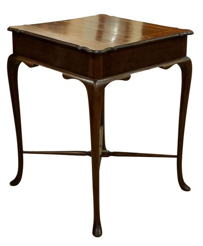 Inlaid Mahogany Occasional Table c.1910 (1 of 6)
