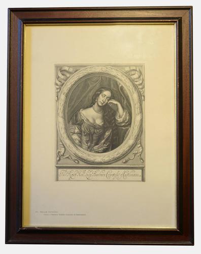 Pair of Large Prints of 17th Century Lady & Gentleman (1 of 5)