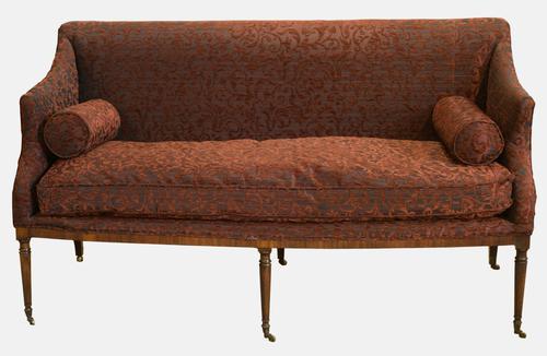 George III Mahogany Framed Sofa c.1790 (1 of 1)