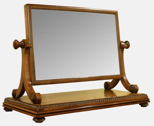 George III Mahogany Swing Mirror c.1810 (1 of 1)