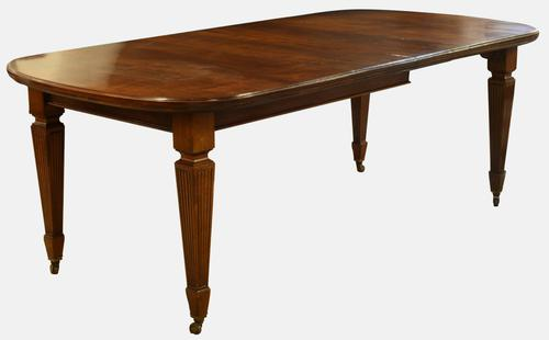 Mahogany Extendable Dining Table c.1900 (1 of 1)
