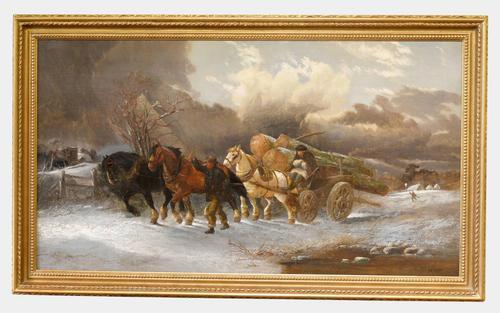 Oil on Canvas by Alexis de Leeuw (1 of 1)