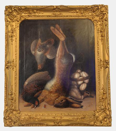 Oil on Canvas in Gilt Frame c.1860 (1 of 1)