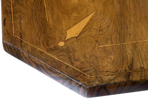 Regency Rosewood Drop-Leaf Supper Table (1 of 10)