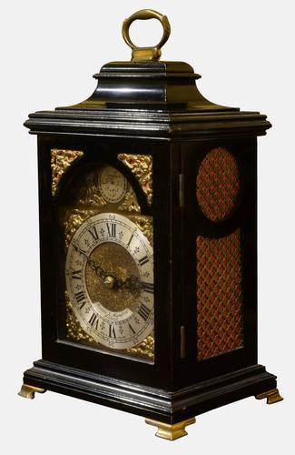 Miniature George III Style Table / Bracket Timepiece c.1960 (1 of 1)