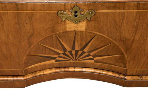 George II Walnut Secretaire Chest on Chest c.1740 (1 of 1)