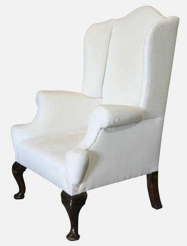 George III Style Winged Armchair c.1920 (1 of 1)
