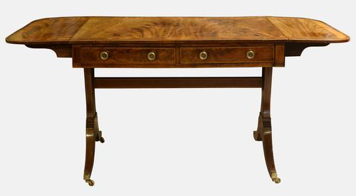 Georgian Mahogany Sofa Table (1 of 1)