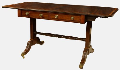 Regency Period Mahogany Sofa Table c.1820 (1 of 1)