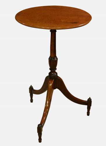 Sheraton Mahogany Lamp Table c.1800 (1 of 1)