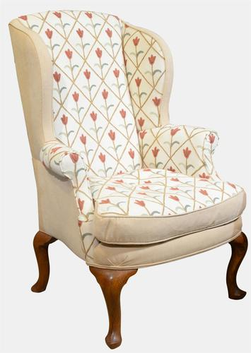 Georgian Style Wing Chair c.1900 (1 of 1)