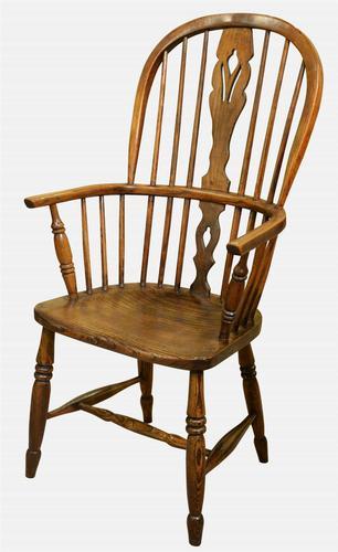 19th Century Highback Windsor Armchair (1 of 1)